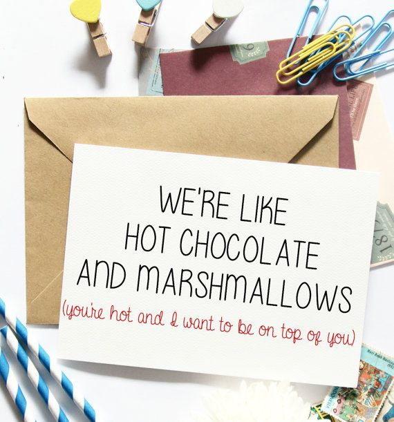 Sexy birthday greeting card for him