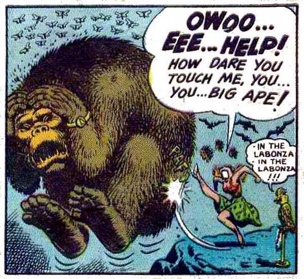King kong cartoon porn