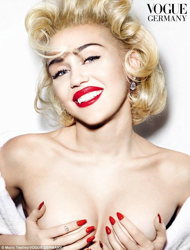 Madonna nude spread