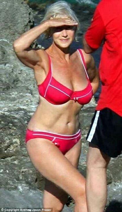Slutty wives and moms beach bikini