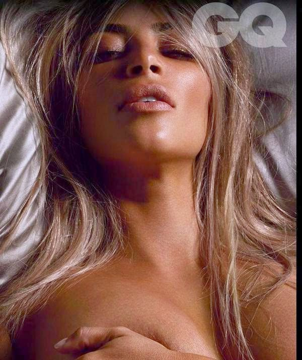 Gq kim kardashian naked