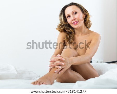Nude middle aged women