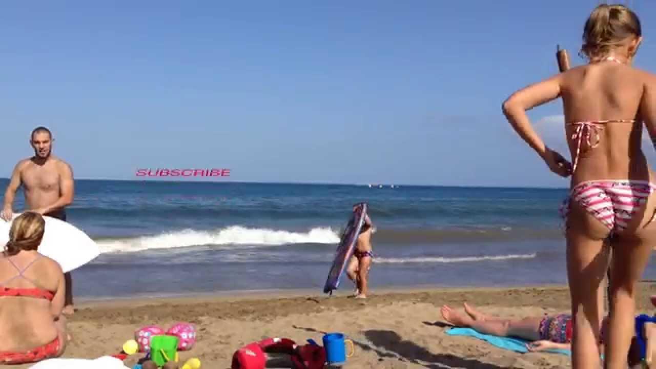 Spanish islands nude beach
