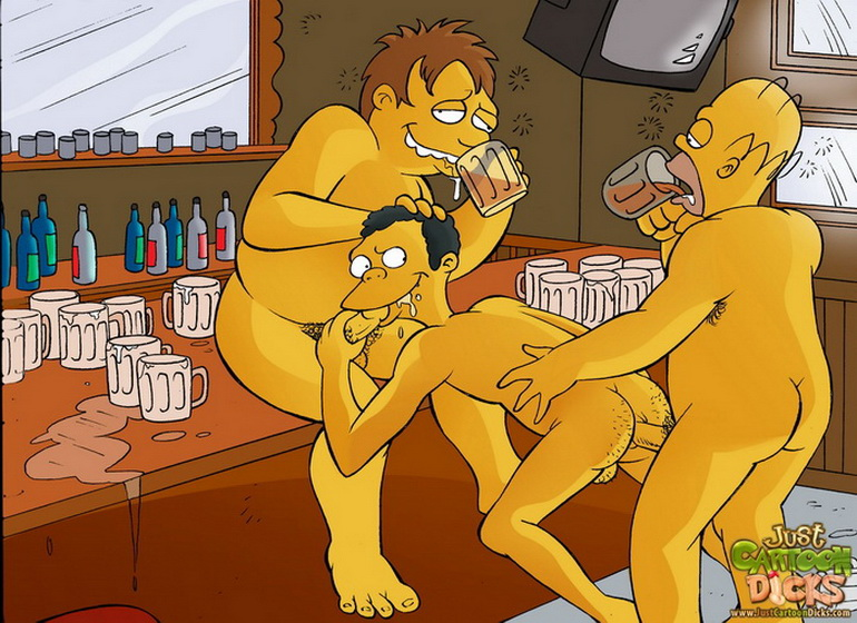 Gay simpsons cartoon porn