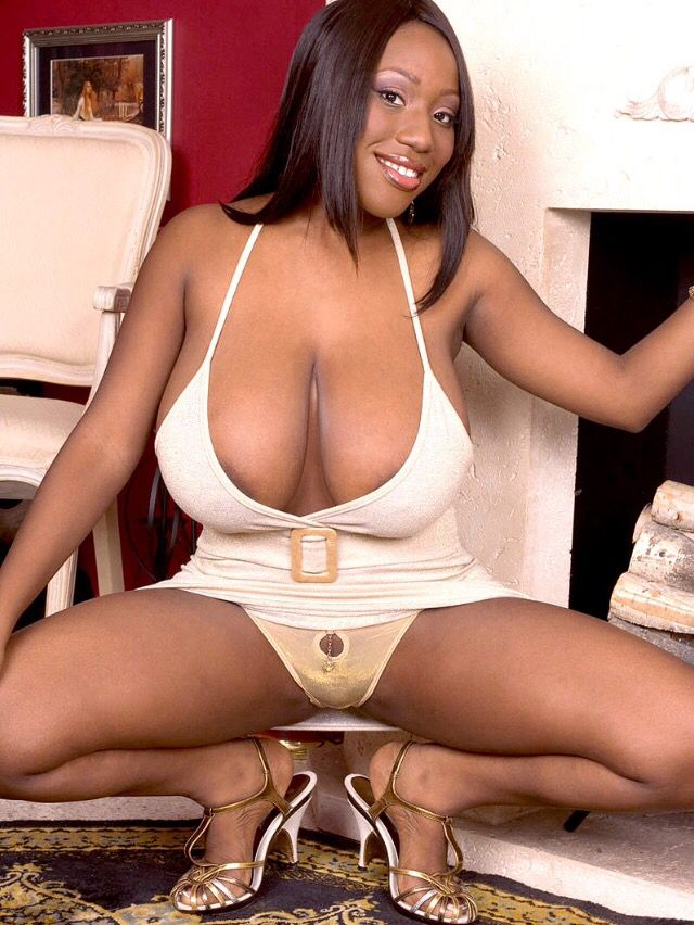Woman naked ebony