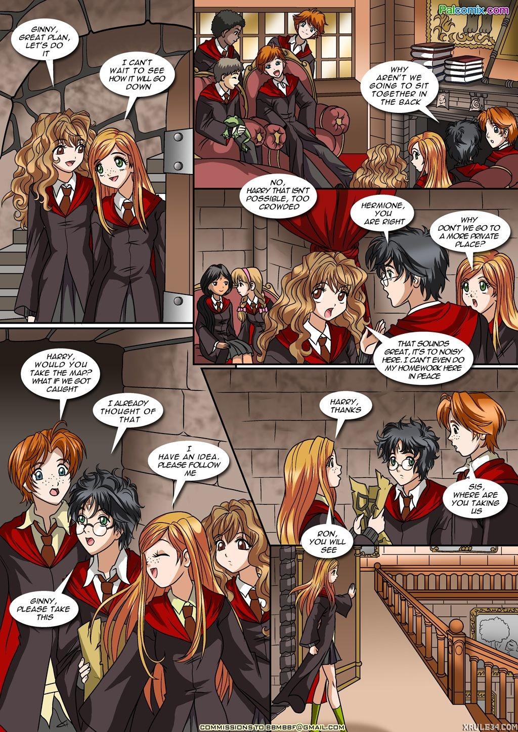 Harry potter hermione porn cartoon