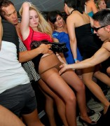 Sexy pantyhose party