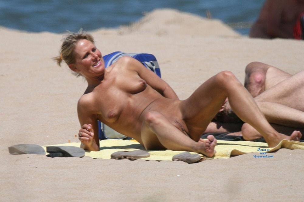 France nude beach voyeur