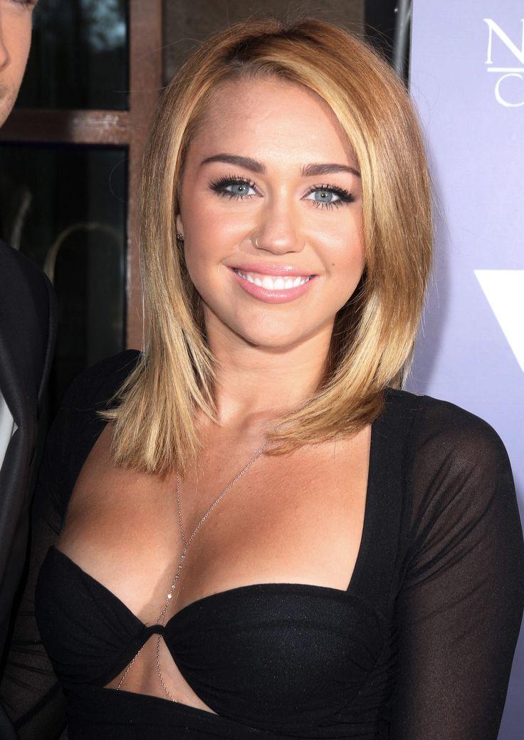 Cyrus blonde hair miley