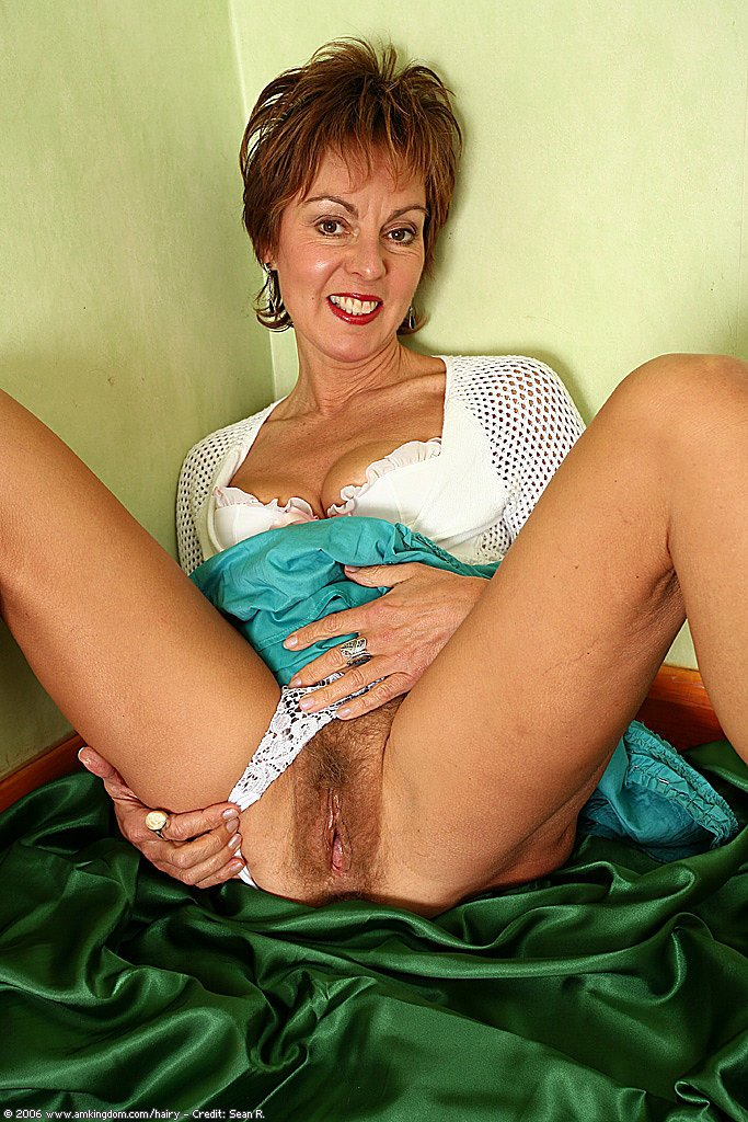 Hairy cougar women