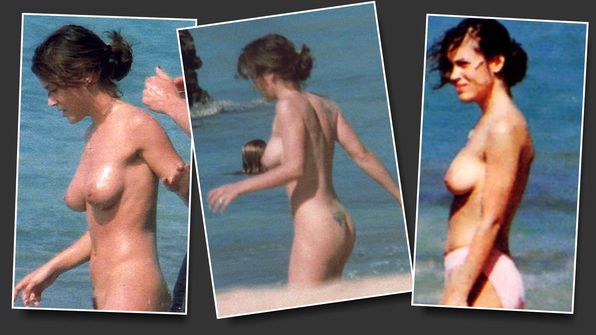 Nude alyssa milano naked