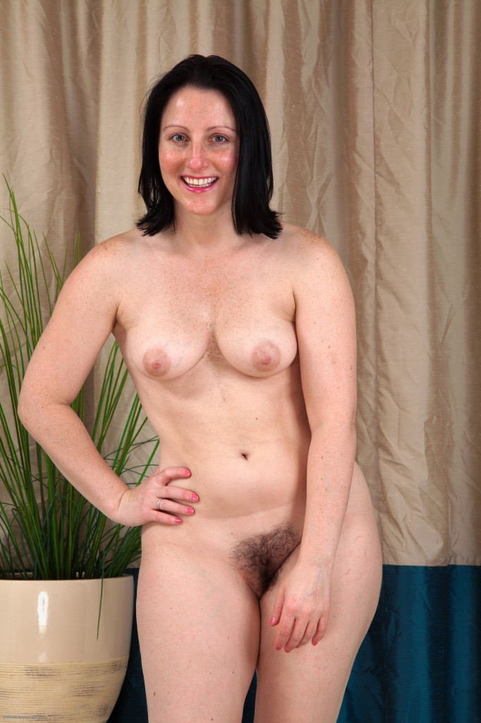 Mature hairy lady nude #8