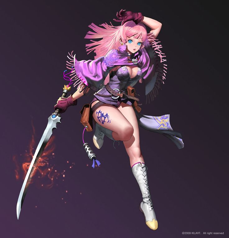 Hot female video game characters hentai