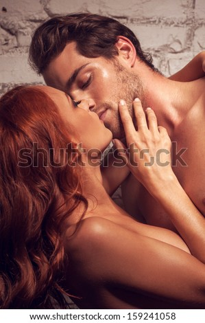 Beautiful couple having sex