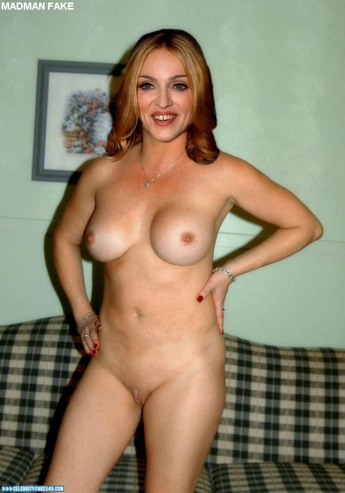Madonna fake nude porn
