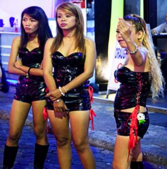 Thai sex worker