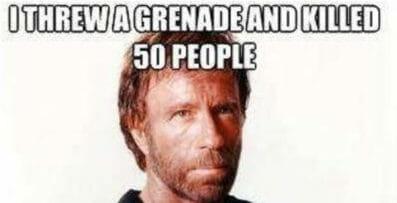 meme Chuck norris