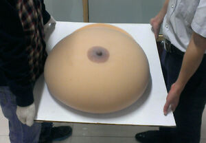 World s biggest fake tits