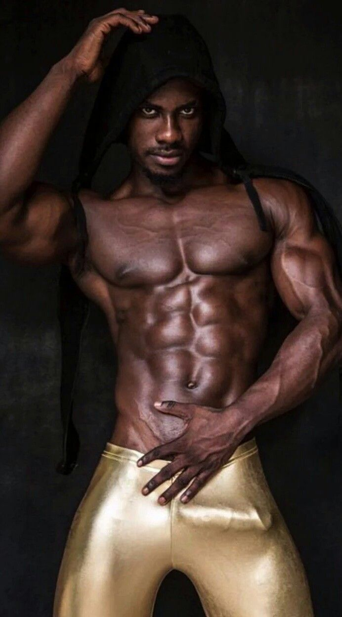 Beautiful gay black men