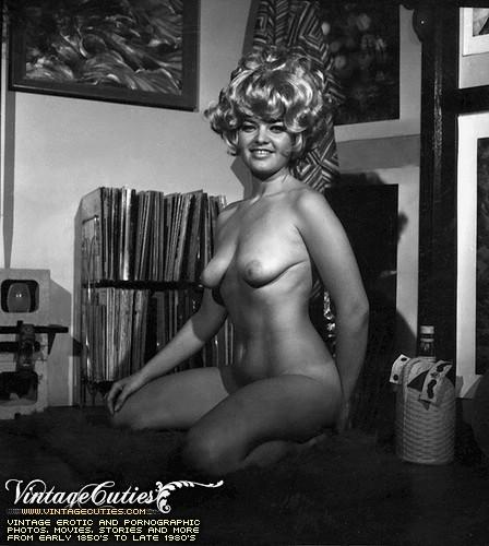 Vintage black and white retro porn