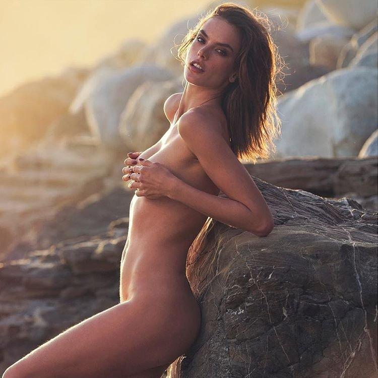 ambrosio naked Alessandra