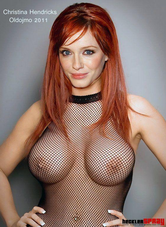 Nude christina hendricks tits