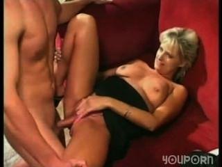 Boy fucks his mom