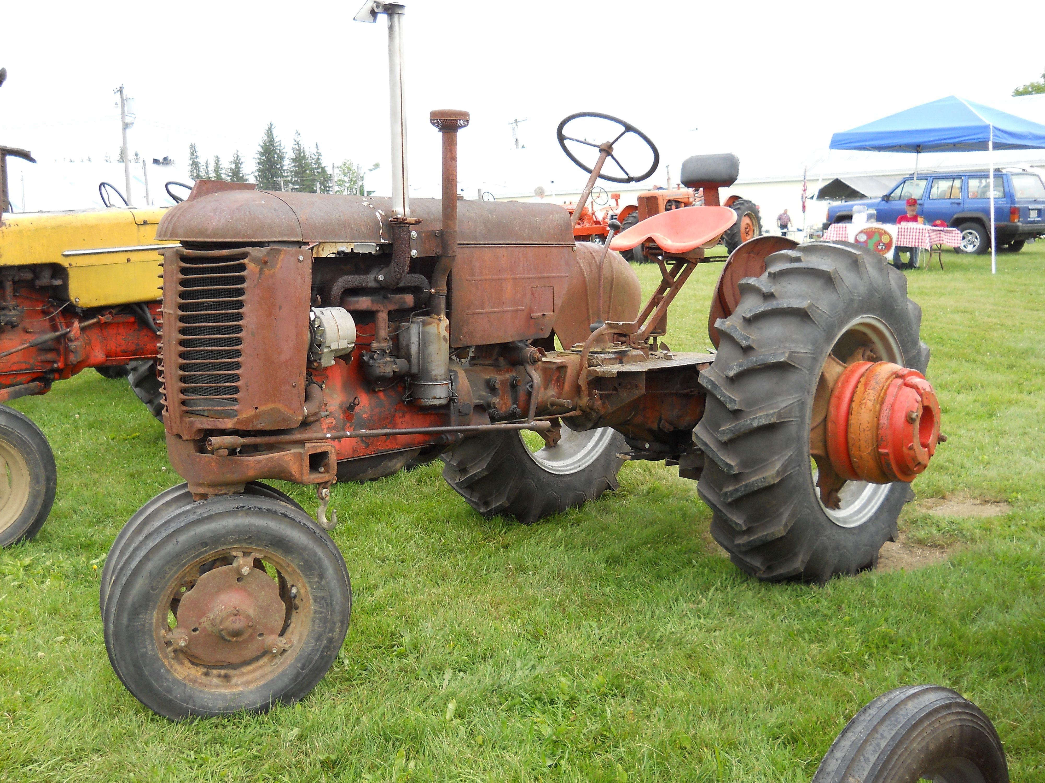 vintage porn Tractor