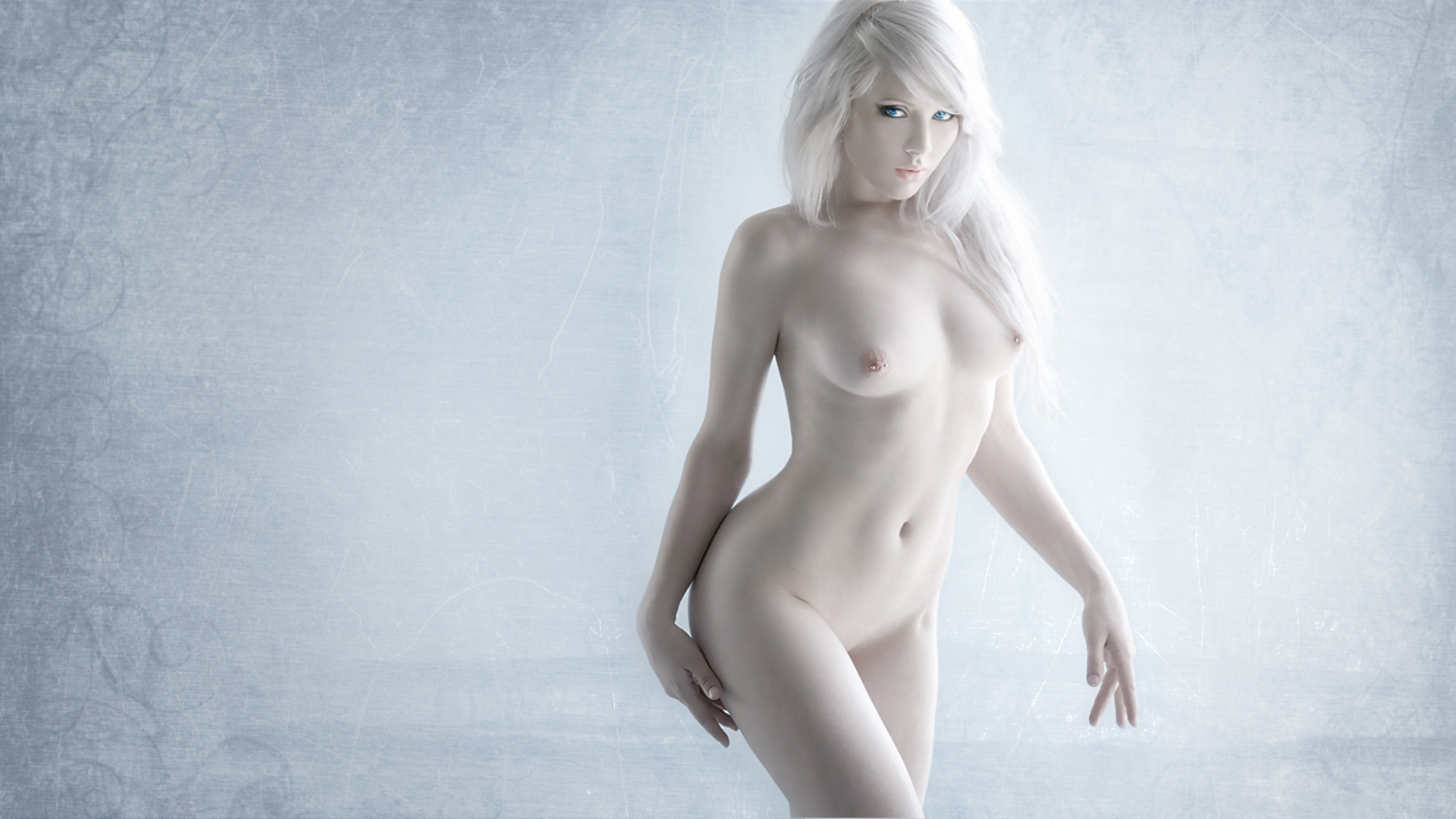 Black albino woman nude
