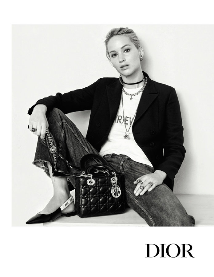 Jennifer lawrence dior ads